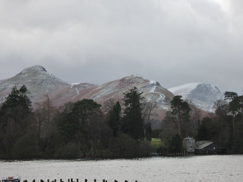 January on Derwentwater