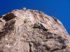 Rock Climbing Photo: P2 of The Deviate Direct.