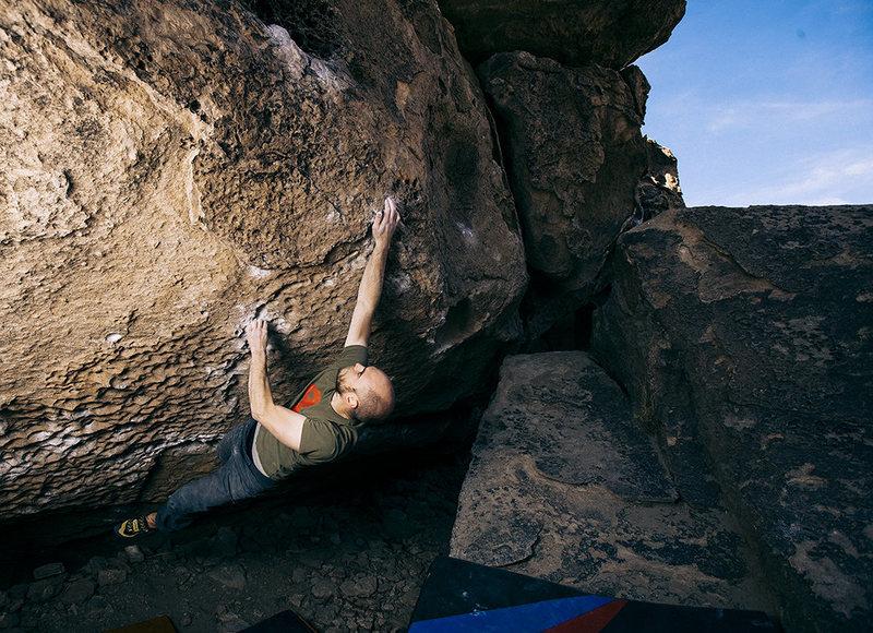 Rock Climbing Photo: Action Figure