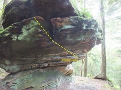 Rock Climbing Photo: Evolution Boulder
