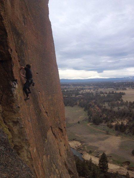 Rock Climbing Photo: Near MF