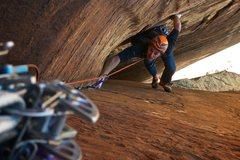 Rock Climbing Photo: Jon Glassberg on pitch 4.