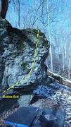 Rock Climbing Photo: Bubble Butt