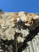 Rock Climbing Photo: Paul on the FA of Br'er Bear.