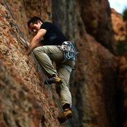 Rock Climbing Photo: myself