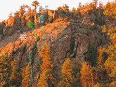 Rock Climbing Photo: photo topo.