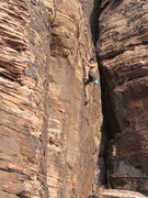 Rock Climbing Photo: Mike Lorenzo on his onsight of Inferno.