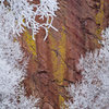 January Ice Storm. Draws on Rainbow Wall.<br> <br> © 2015 Ken Cangi, All Rights Reserved.