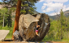 Rock Climbing Photo: Scarface, Poudre Canyon, CO