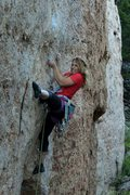Rock Climbing Photo: Tangerine Fat Explosion, Ten Sleep, WY
