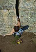 Rock Climbing Photo: Rusty's Crack, Chattanooga, TN