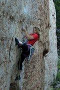 Rock Climbing Photo: Tangerine Fat Explosion