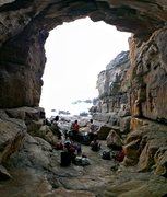 Rock Climbing Photo: Bikini Cave