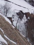 """Rock Climbing Photo: Waterfall """"Area"""" Jan 16th 2015 (more ice..."""