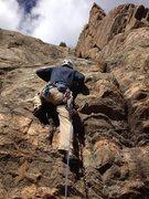 Rock Climbing Photo: Starting up Hobbes.