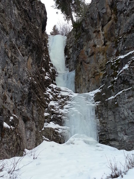 Rock Climbing Photo: Last Chance Falls 1/18/15