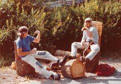 Rock Climbing Photo: Camping with Darryl Hatton '78