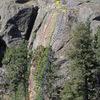 Big Butte - East Face topo