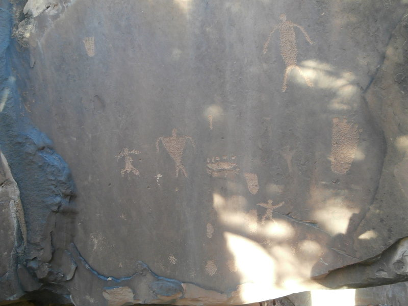 Rock Climbing Photo: Some history up in the wash on the way into Hamm C...