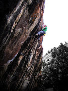 Rock Climbing Photo: Last move back in 2011.