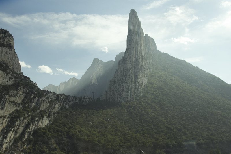 Incredible peak of Torre Diablos has numerous trad lines for the budding adventurer!