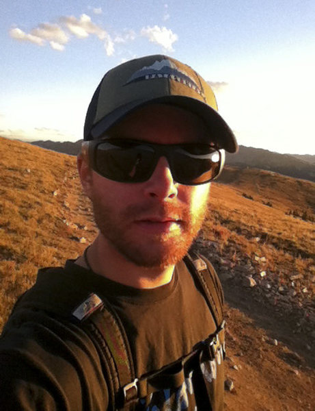 Rock Climbing Photo: Sunset Hiking, scouting for winter backcountry ski...