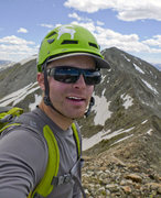 Rock Climbing Photo: On Peak 2 heading across the technical 10 mile ran...