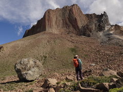 Rock Climbing Photo: Cerro Colorado overview, on the way between high a...