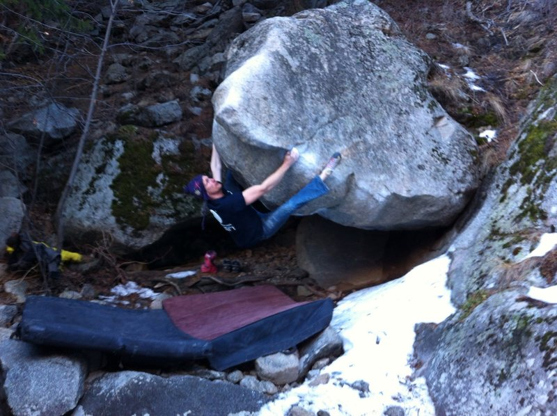 Rock Climbing Photo: Powering into the finish! Such a fantastic compres...