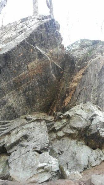 Rock Climbing Photo: The Zipper