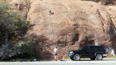 Rock Climbing Photo: Left Slab
