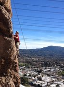 Rock Climbing Photo: Some exposure and views.