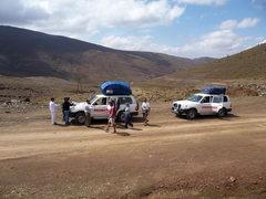 Rock Climbing Photo: On the road from Azilal to Zaouia Ahansal
