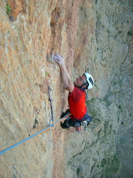"""Federico Michielli on """"Barracuda"""" - (7c+ - 590m) Mt. Oujdad"""