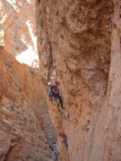 """Rock Climbing Photo: Federico (above) and me climbing on """"Les rivi..."""