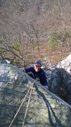 Rock Climbing Photo: Me at Annapolis Rocks