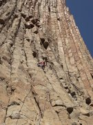 """Rock Climbing Photo: Mariana Candeia in the first ascent of """" La F..."""