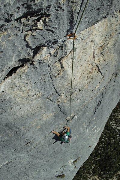 Rock Climbing Photo: Wide is Love, Verdon Gorge