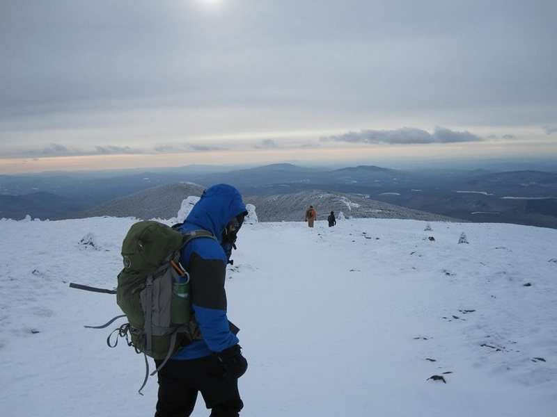 Rock Climbing Photo: Mount Moosilauke 1/1/2015