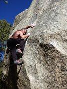 Rock Climbing Photo: January 17, 2015.