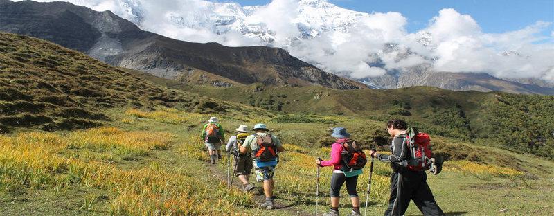 Rock Climbing Photo: Trekking in Nepal