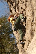 Rock Climbing Photo: Fun, long route with good rests