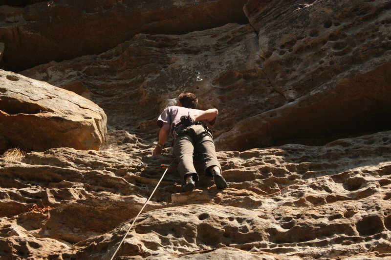 Rock Climbing Photo: Good Rests