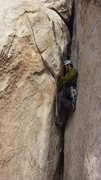 Rock Climbing Photo: This is pretty much the crux. You can protect your...