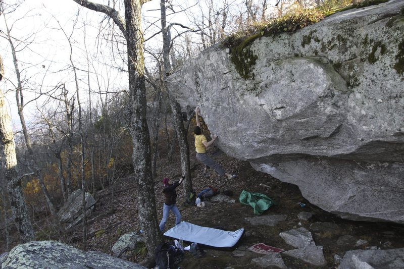 Rock Climbing Photo: The Don V8