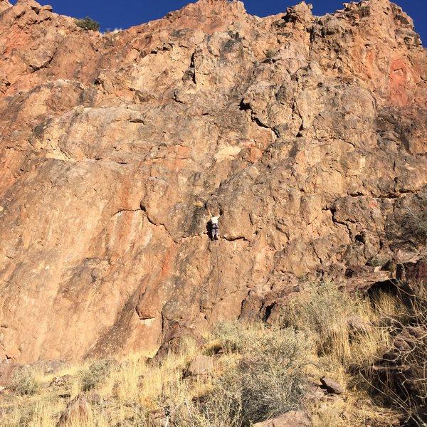 Rock Climbing Photo: Lucid Fairyland variation