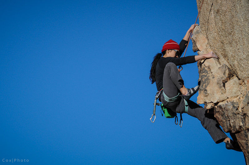 Rock Climbing Photo: Rita Shin somewhere in the West Tiers.  Photo by S...