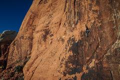 Rock Climbing Photo: Dave Darnell cruisin it.