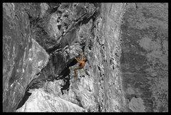 Rock Climbing Photo: The overhang...