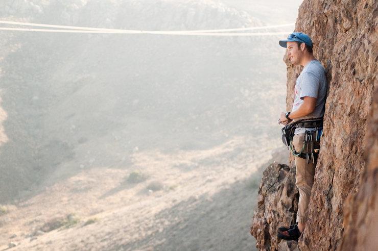 Rock Climbing Photo: The ledge. Alex O.